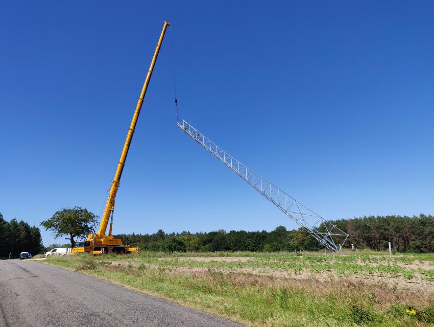 Levage du Pylone 4g