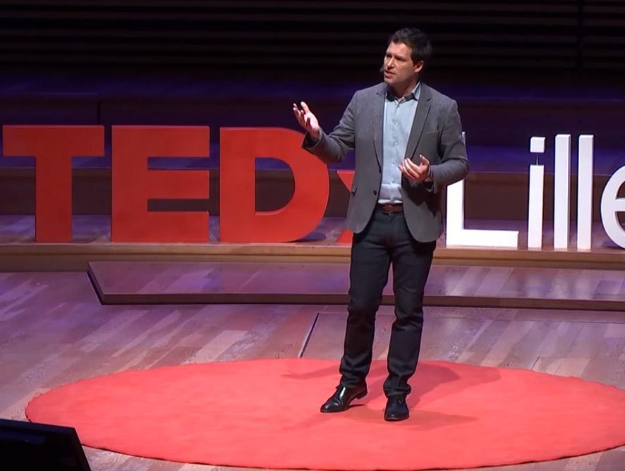 Guillaume Pitron journalise, réalisateur, tedx speaker Brenne Box